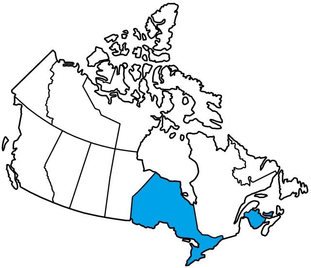 Canadian Amish, Amish Provinces