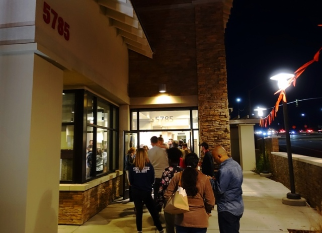 Opening at Chick-fil-A, Opening Day, First 100, Chicken Sandwich, Pleasanton, California
