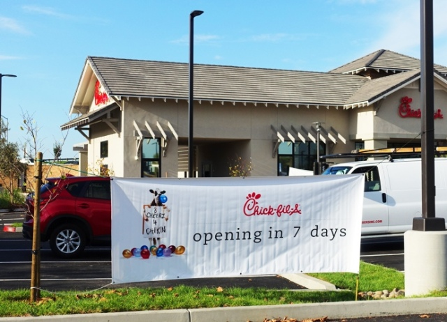 Chikin, Eat more Chicken, closed on Sunday, Pleasanton, Chick-fil-A