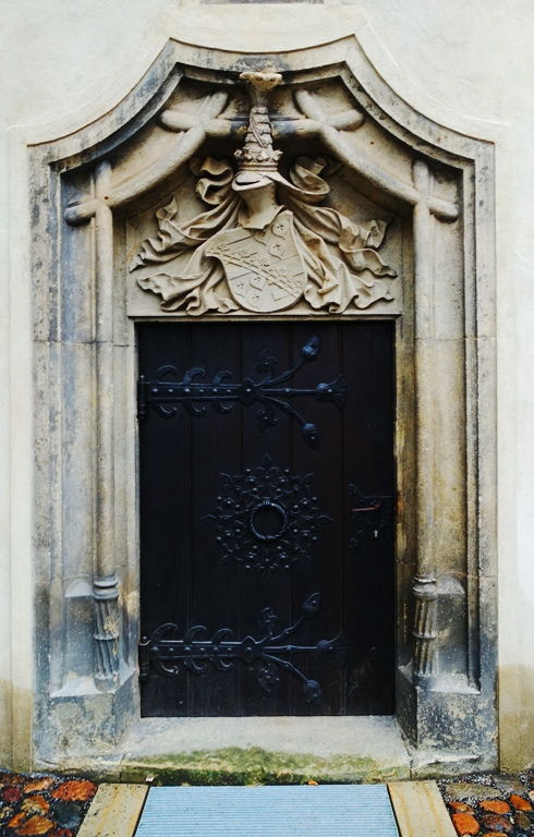 Tower Door, Castle Church, Wittenberg Lutherstadt, Germany, doors
