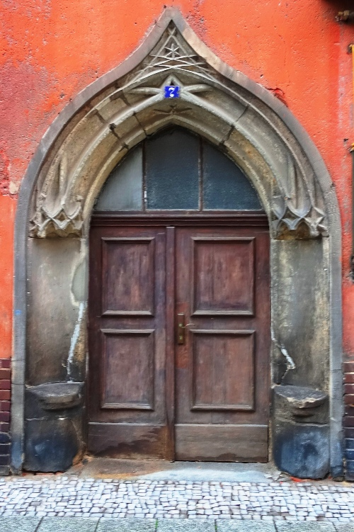 Old German Door, Wittenberg, Germany, Doorway