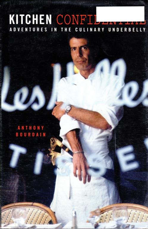 Kitchen Confidential, Anthony Bourdain, Cooking, Chef, Celebrity Chef, Gilmore Girls List