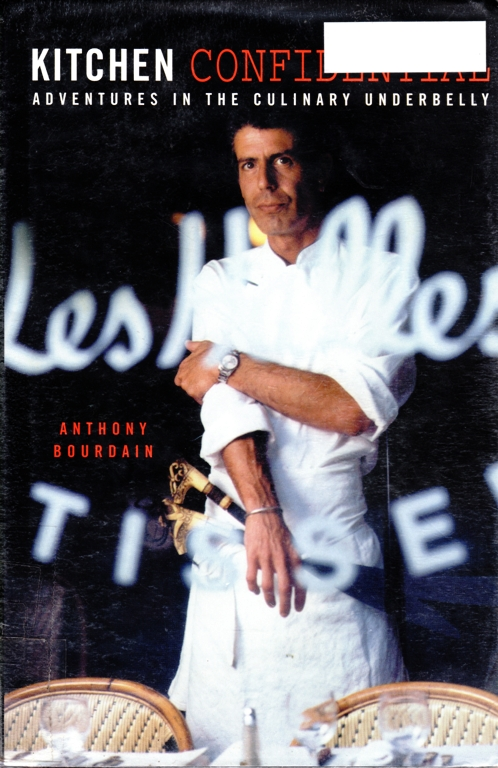 Kitchen Confidential, Anthony Bourdain, Cooking, Chef, Celebrity Chef, Gilmore Girls List
