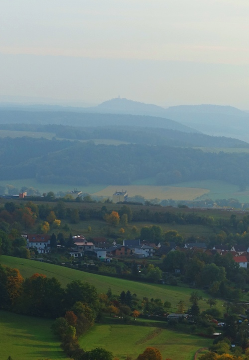 Saale Valley, Leuchtenburg, long hike, German scenery
