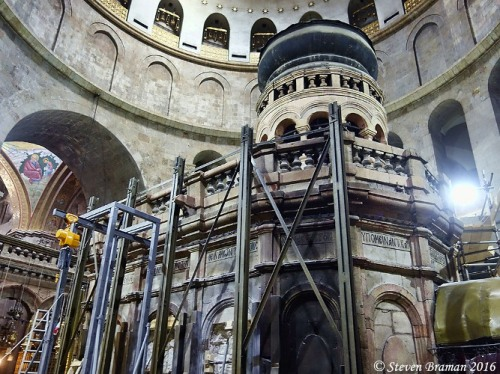 Holy Sepulcher, Edicule, Renovations, Tomb of Christ?