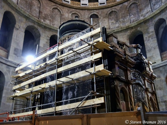 Edicule, Church of the Holy Sepulcher, Rennovation, Tomb of Christ