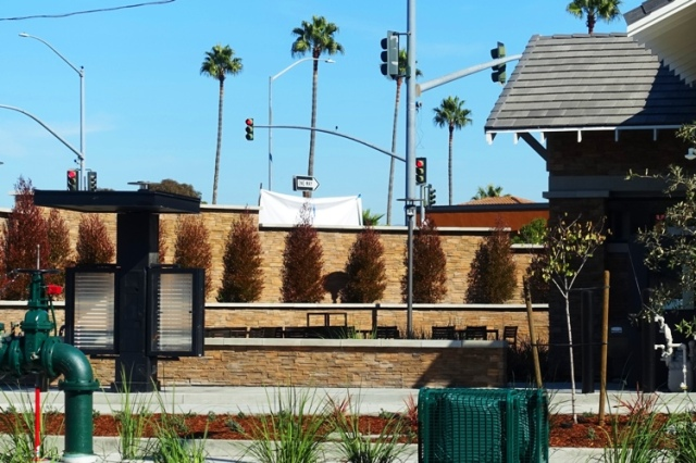 Outdoor seating, Pleasanton Chick-fil-A, Opening Soon, November 17