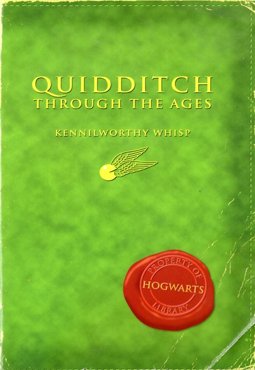Quidditch through the ages, Kennilworthy Whisp, Hogwarts Library, J. K. Rowling