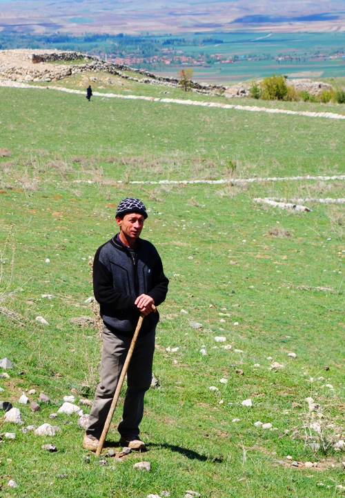 Shepherd, Turkey, Hattusha, Hittite Capital