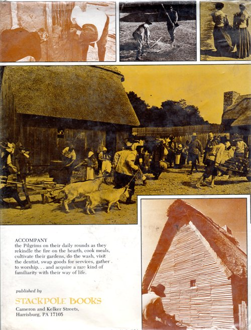 Mayflower, Pilgrims, Plymouth Colony, Cyril Leek Marshall