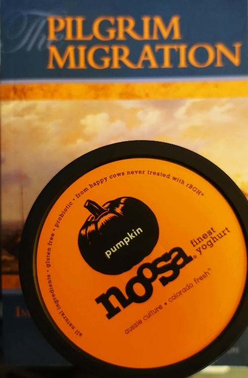 Pumpkin Yoghurt, Noosa Yoghurt, Thanksgiving