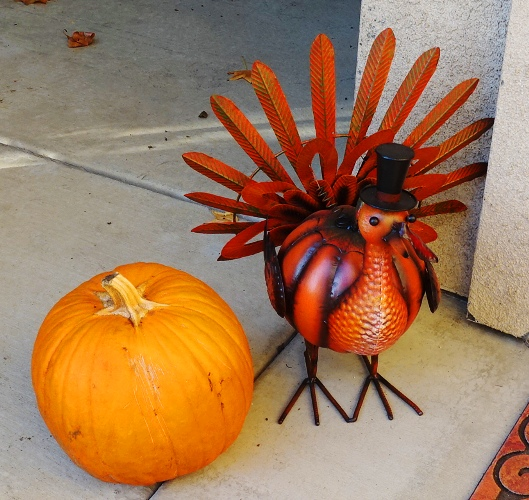 Thanksgiving decorations, Turkey, Pumpkin