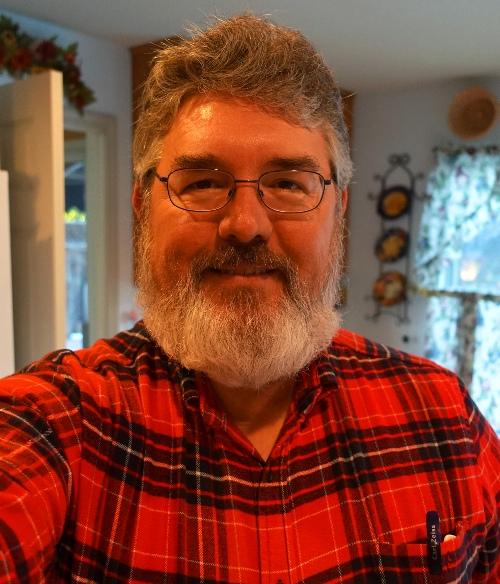 Thanksgiving Selfie, Flannel Shirt, Thanksgiving, Beard