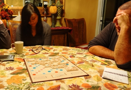 Thanksgiving Scrabble, Games, Word Games