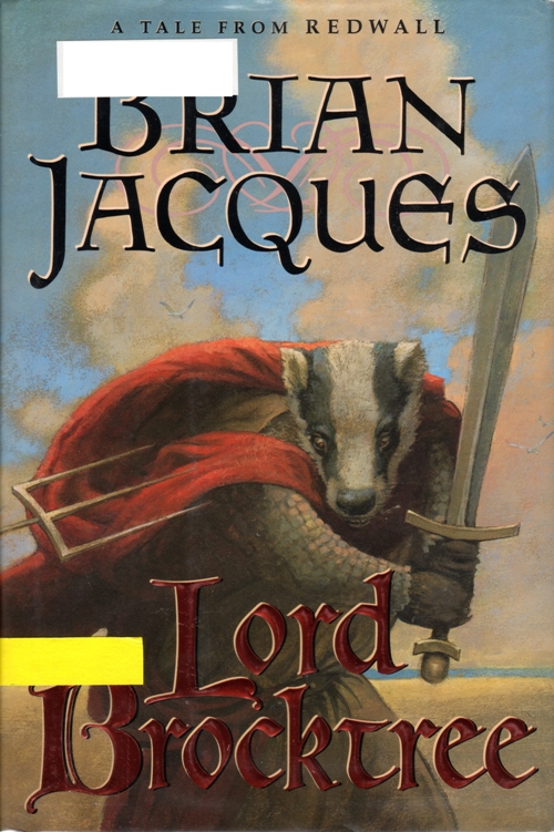 Redwall Series, Lord Brocktree, Brian Jacques, Book Series