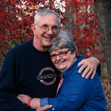 parents, family pictures, 53rd anniversary, Fall picture of grandparents