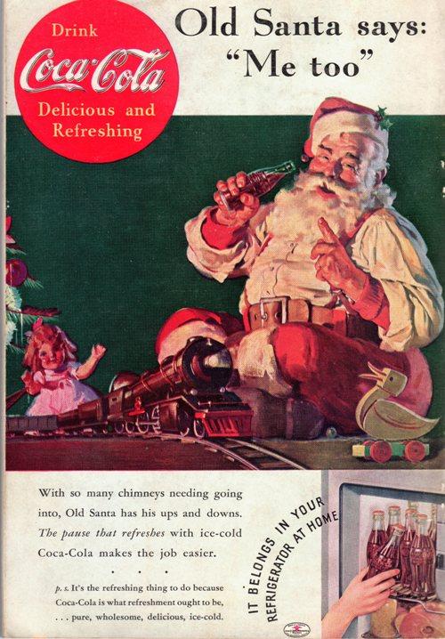 National Geographic, Coke, Santa, Advertisement
