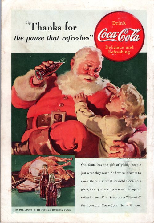 National Geographic, Coke, Santa, Advertisement