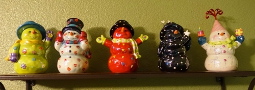Snow men, Snowman, Holiday decorations