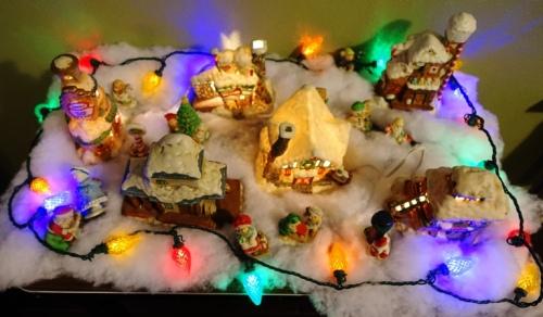 Village, Christmas Decorations, holiday cheer