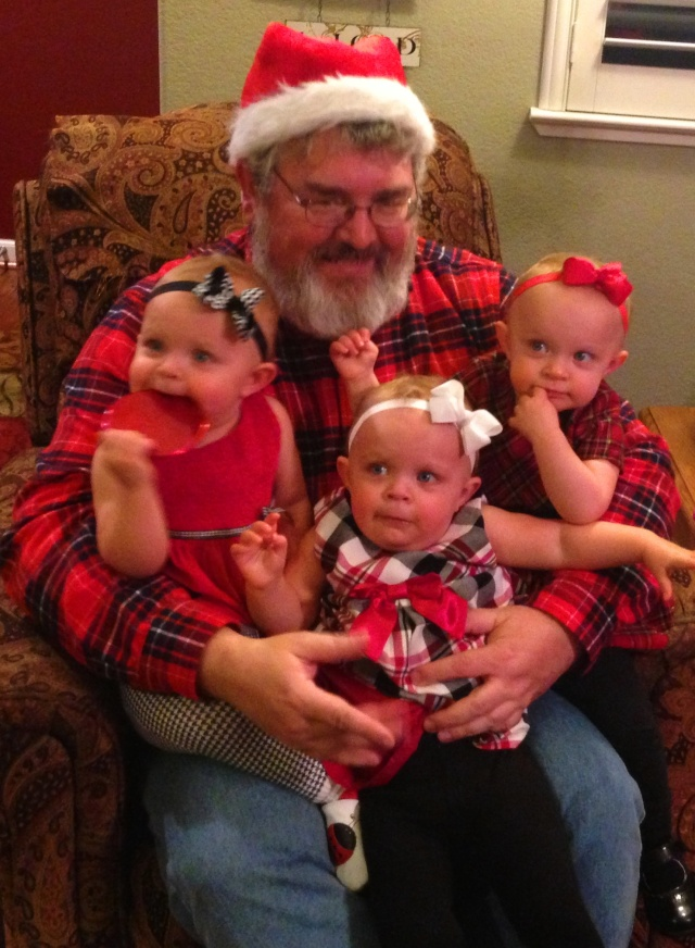 Santa Claus, Triplets, Christmas Fun