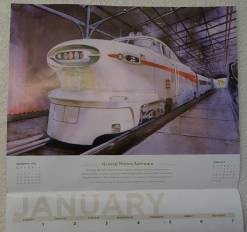 Osh Train Calendar, Orchard Supply Calendar, 2017