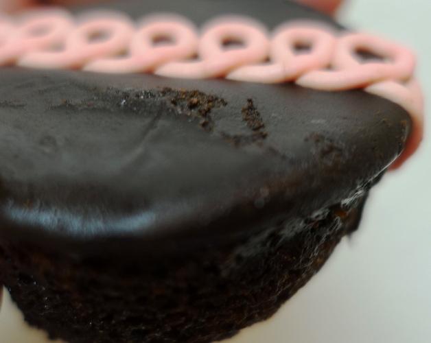 Dark Chocolate Raspberry CupCakes, Hostess Snack Cakes