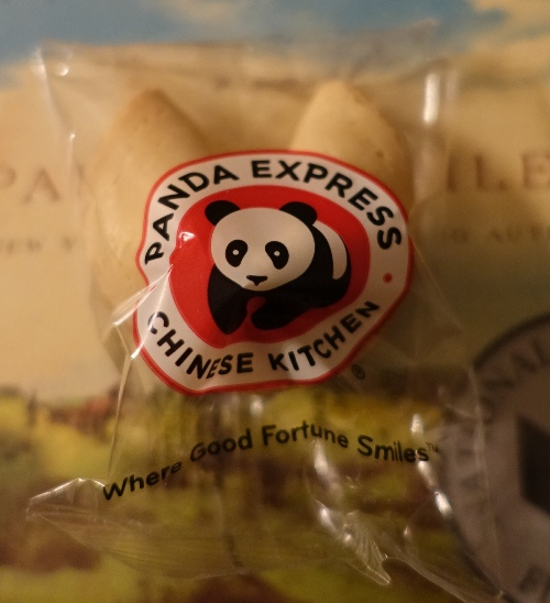 Panda Express, Fortune Cookie, American Invention