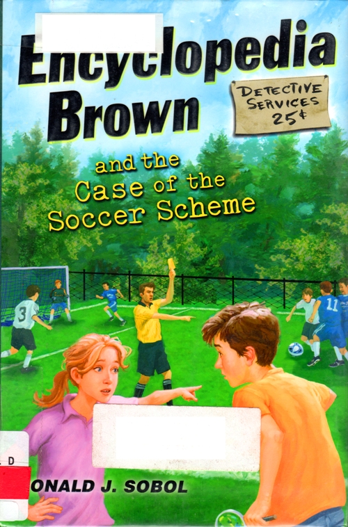 Enyclopedia Brown, Donald J. Sobol, Soccer Scheme, puns, mysteries