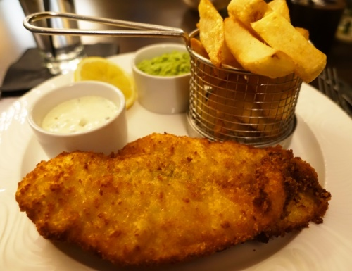 Fish and Chips,  English Dinner