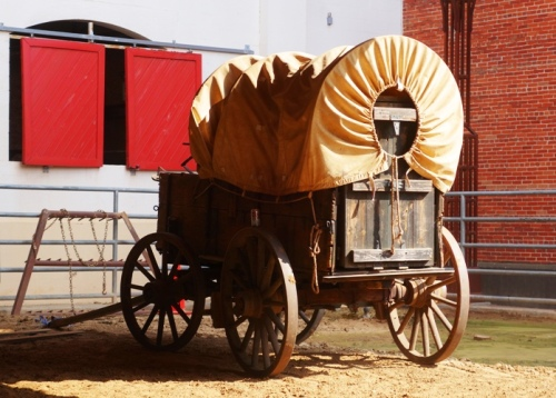Western Wagon, Rodeo, Horse Show, Stockyards