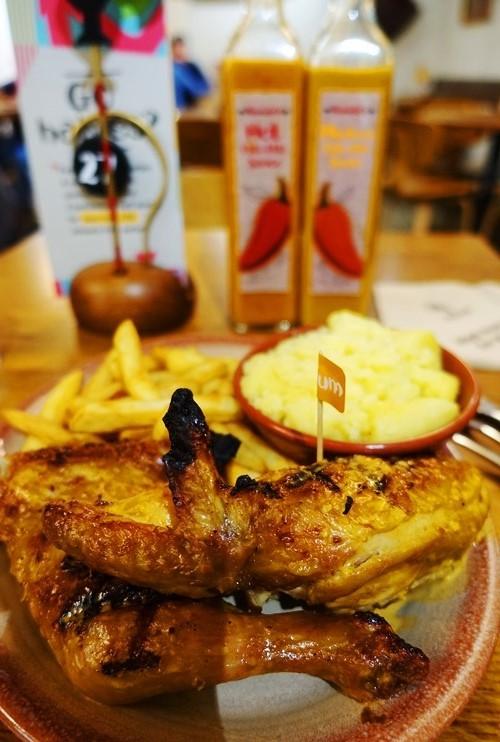 Half Chicken, Chips, Potatoes, nando's