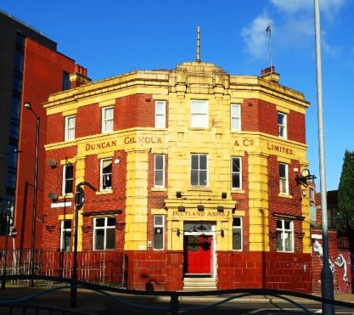Sheffield UK, Old Building, Travel