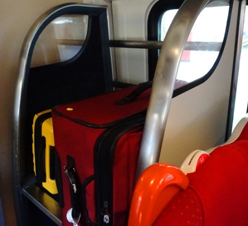 Baggage, Trains, UK, Travel, Clifford