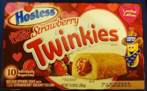 Strawberry Twinkies, Hostess Snack Cakes, Twinkies, Twinkies Flavors