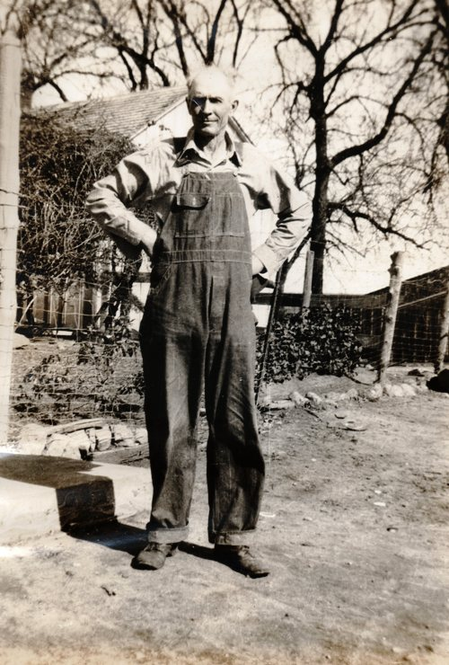 Charles Shafer Van Duzor, Great Grandfather, Chub, Farmer, Overalls, Family pictures