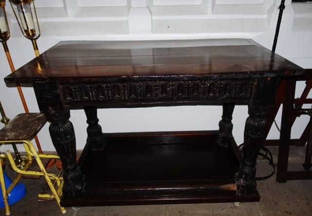 Wooden Altar, Jacobean, Worksop Priory, Richard Barnard