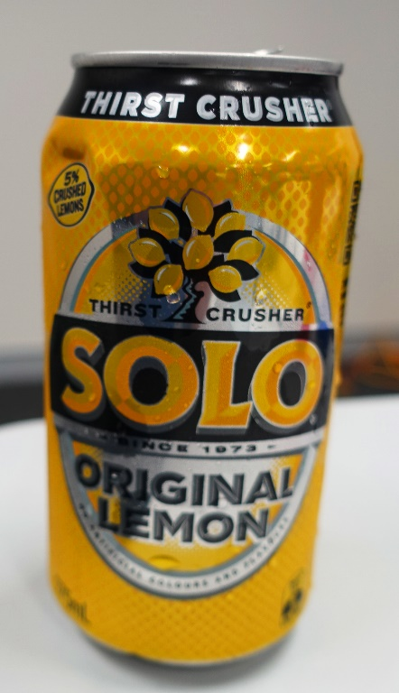 Original lemon, solo, Australian drink, soda, Lemon Soda