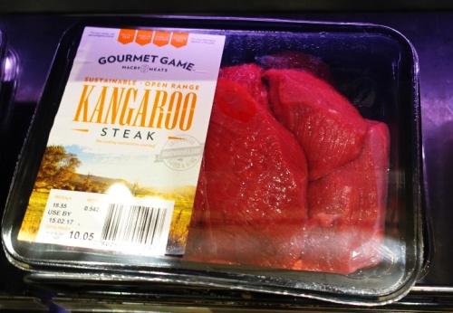 Kangaroo Steak, Packaged Kangaroo, Food, Australia