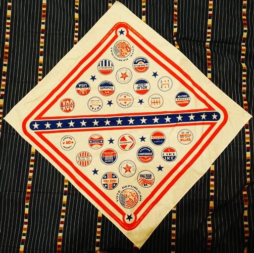 Election logos, scarf, elections, presidential logos