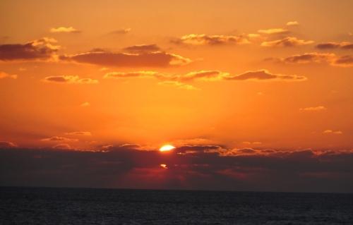 Jaffa Sunset, Mediterranean Sea, Sunset, Red Sky