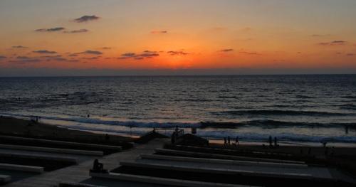 Mediterranean Sea Sunset, Joppa, Jaffa, Beach