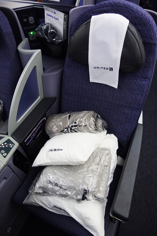 787, Polaris, United Airlines, Business Class