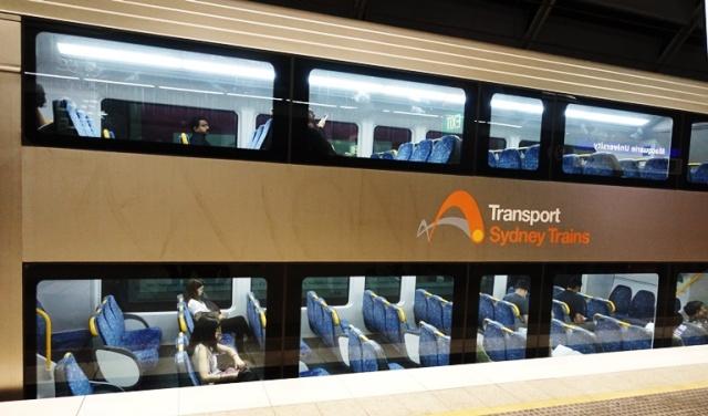 Sydney Transport, Trains, Macquarie University STation