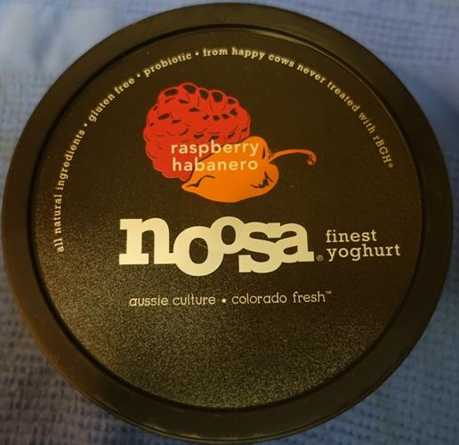 noosa yoghurt, raspberry habanero, yoghurt flavors