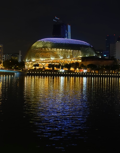 Esplanade, theaters on the bay, Singapore, Big Durians