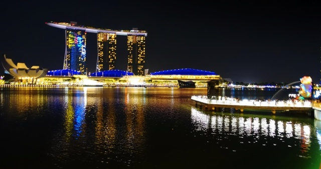 Sands Casino, Marina Bay, Singapore, Merlion