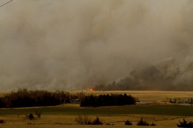 western kansas fires, wildfires