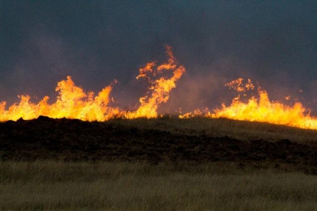 Kansas Grass Fires, Southwest Kansas