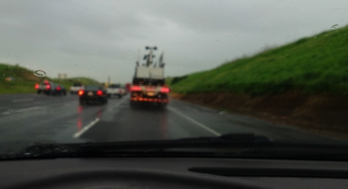Rainy Commute, Commute, Spring Rain
